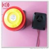 De vierkante Zwarte Hoge Zoemer van het Alarm 120dB
