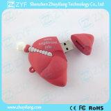 로고 (ZYF5048)를 가진 주문 인간적인 폐 모양 USB 섬광 드라이브