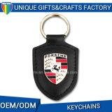 Metaal van de Stijl van de Verkoop van de fabriek het Directe Open, pvc Keychain