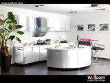 Da cozinha nova do projeto da carcaça da madeira compensada de Welbom mobília 2016 de madeira