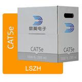 LSZH UTP Cat5e cable interior 24 AWG cobre desnudo