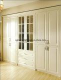 MDF van de Film van pvc van de Delen van het meubilair de Deur van de Garderobe