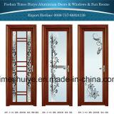 ألومنيوم باب زجاجيّة مع مختلفة لون وحجوم