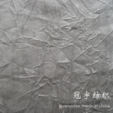 Tissu court décoratif de brouillon de polyester de textile de maison de velours de pile