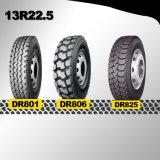 工場二重道の新しい13r22.5トラックのタイヤ