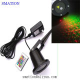 Star Home Festival Shower Christmast Green Laser Laser laser extérieur