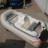Barco de goma inflable del PVC del barco de motor 15HP de Liya los 3.3m