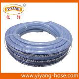 Manguera reforzada trenza flexible del PVC Cleart de Tonydx