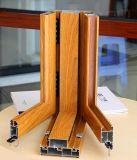 Profil en aluminium de bâti d'isolation thermique de porte saine de guichet en aluminium