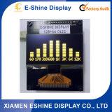 2.4 판매를 위한 가득 차있는 보기 각 128X64 파란 도표 모니터 전시 OLED