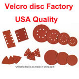 disco del Velcro de 125m m para la madera y el metal