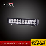 LED bar of Lamp 17.5inch 200W CREE Light bar of 4X4 Offroad