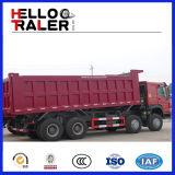 Cnhtc Sinotruk 30 입방 미터 덤프 트럭 8X4 팁 주는 사람 트럭