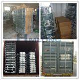 Gaiola logística do armazenamento da segurança do rolamento do metal do fio