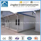 Casa prefabricada ligera de la estructura de acero del calibrador