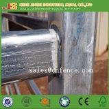 De poeder het Met een laag bedekte Hindernissen van het Vee van het Staal/Comité van de Omheining Pen/Fence met Lijnen