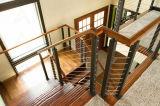 Pasamano al aire libre del acero inoxidable de la escalera de las barandillas y de las barandillas de la seguridad de la fábrica de Foshan