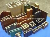 Linea di produzione di plastica di profilo del terrazzo della piattaforma del PE WPC dei pp