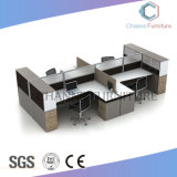 Muebles modernos con el vector lateral melamina Cubículo