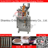 Automatisch Volledig Roestvrij staal 304 de Ronde Machine van de Verpakking van de Korrel van de Hoek Zak Verzegelde