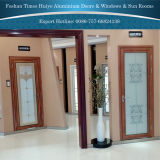 Portas de alumínio decorativas do banheiro do produto novo com bom preço