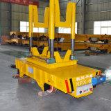 Carrello di trasferimento della siviera dell'onere gravoso utilizzato nell'industria di metallo sulle rotaie