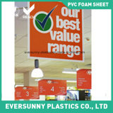 Bonne feuille de publicité imperméable à l'eau de mousse de PVC