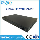 Chine Support fournisseur DHCP Nat 64 FXS / FXO Port VoIP Gateway