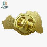 Items a granel que echan los contactos plateados oro de la solapa del número y de la carta del collar