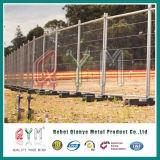 Cerco provisório móvel/cerca móvel galvanizada mergulhada quente do engranzamento de fio