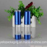 Container zonder lucht van de Schoonheidsmiddelen van de Fles van de Fles van de Fles de Plastic Kosmetische