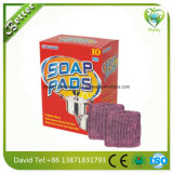Stahlwolle-Auflage mit Seife
