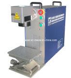 Bewegliche Laser-Markierungs-Maschine für Metall Fol-20A
