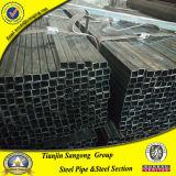 Schwarzes Ausglühen geschweißtes quadratisches Stahlrohr 22*22mm
