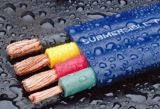 Flaches Submersible Pump Cable 4AWG