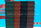 Material para techos del metal, azulejo de azotea revestido de la piedra del color en Nigeria