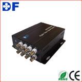 Venda quente HD-Cvi/HD-Sdi/Ahd/Tvi ao conversor video com o conversor ótico da fibra de 8 canaletas