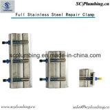 volle Rohr-Leck-Reparatur-Stahlschelle des Kreis-100%Stainless