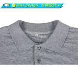 Kundenspezifische Mann-Überformatlanges Hülsen-Kragen-Massent-Shirt
