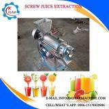 Máquina de extração de suco de parafusos de frutas de grande capacidade 1-1.5t / H