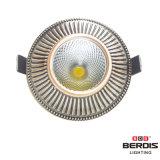7W 빨간 앙티크 또는 녹색 앙티크 또는 크롬 또는 금 실내를 위한 4개의 색깔 고전적인 LED Downlight