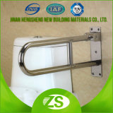 Sicherheits-Badezimmer-Handlauf zerteilt die gesperrte Zupacken-Stab-Toilette