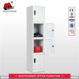 Office Use 4 Door Metal Storage Cabinet Locker