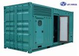 générateur diesel silencieux mobile de conteneur de 20FT 400V/230V pour industriel
