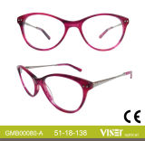 De Glazen van de Acetaat van de manier, de Optische Frames van het Oogglas van Frames, Optische Glazen (80-a)