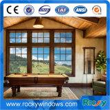 Modèle en aluminium de gril de porte principale de porte de double vitrage de porte de tissu pour rideaux d'interruption thermique de garantie