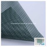 De pvc-met een laag bedekte Stof van het Netwerk van de Polyester aan Sunshading/het Controleren, Bouw, Teken & het Afbaarden
