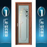 Portes intérieures en aluminium de toilette de portes de salle de bains