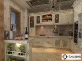 Armadio da cucina di legno turco dell'hotel dell'isola domestica moderna della mobilia