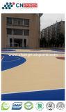 Assoalho Eco-Friendly do campo de básquete para o terreno/escola/campo de jogos